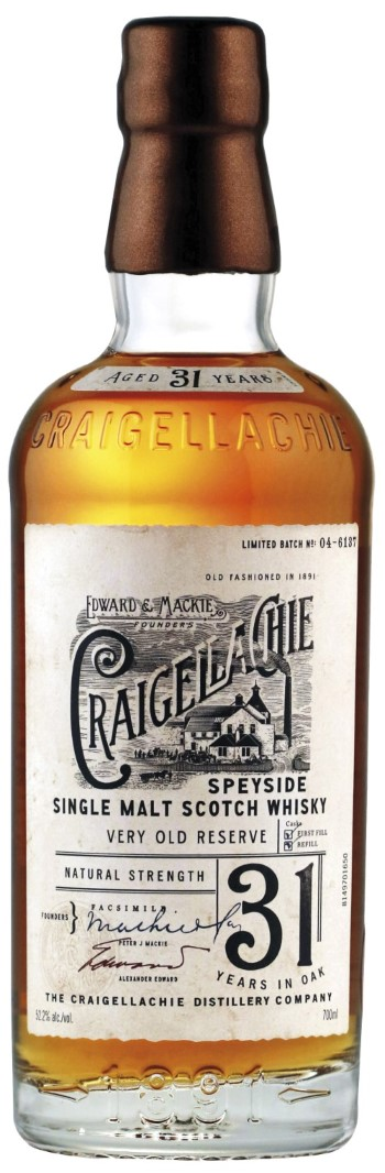 Craigellachie_31_Years_Old