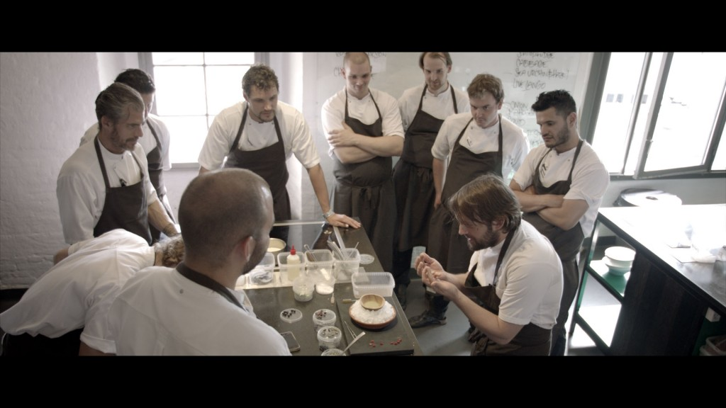 Photo by Pierre Deschamps, Rene- Redzepi & Team in test-kitchen NOMA_1.228.1