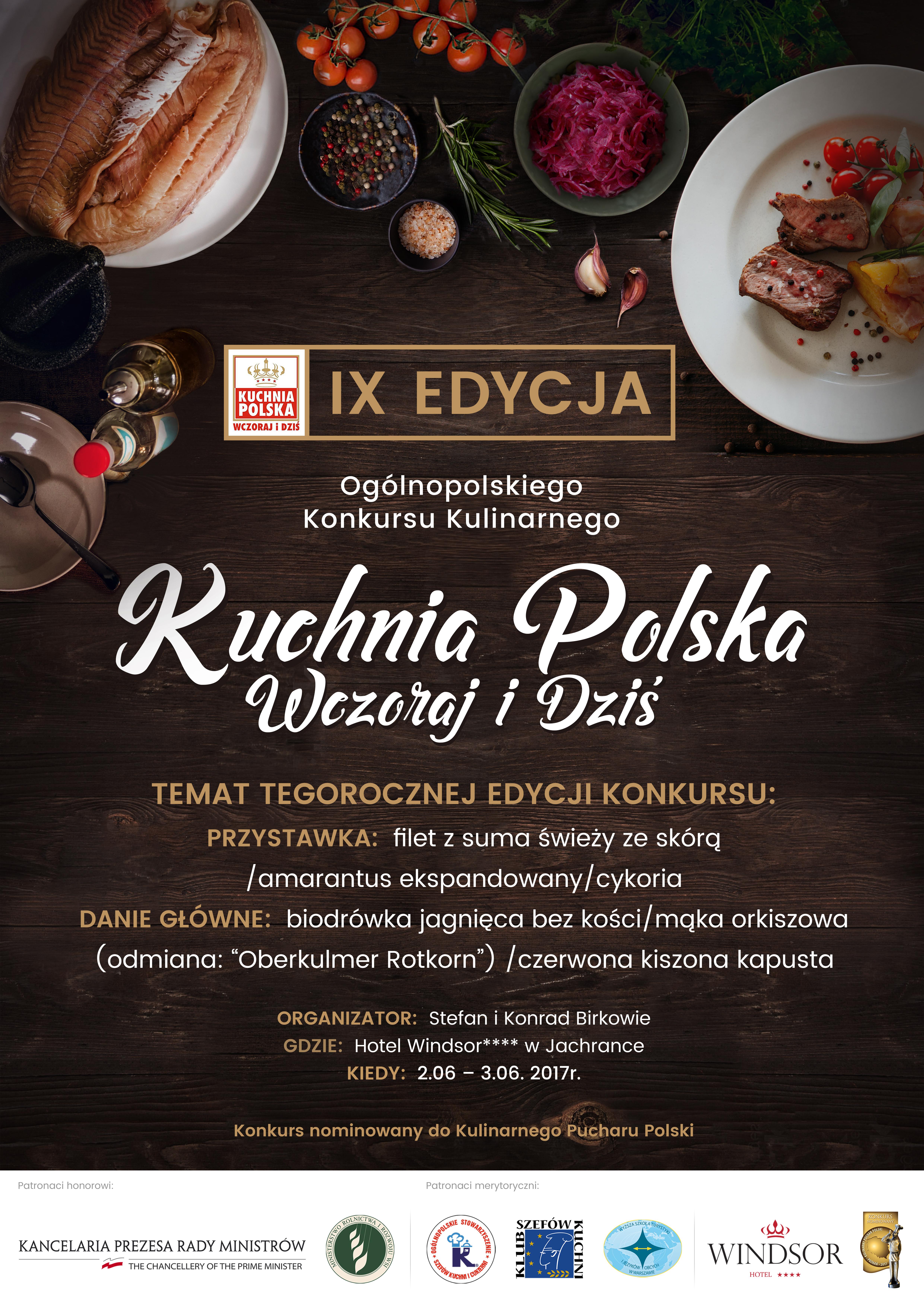 plakat Kuchnia Polska Wczoraj i Dziś
