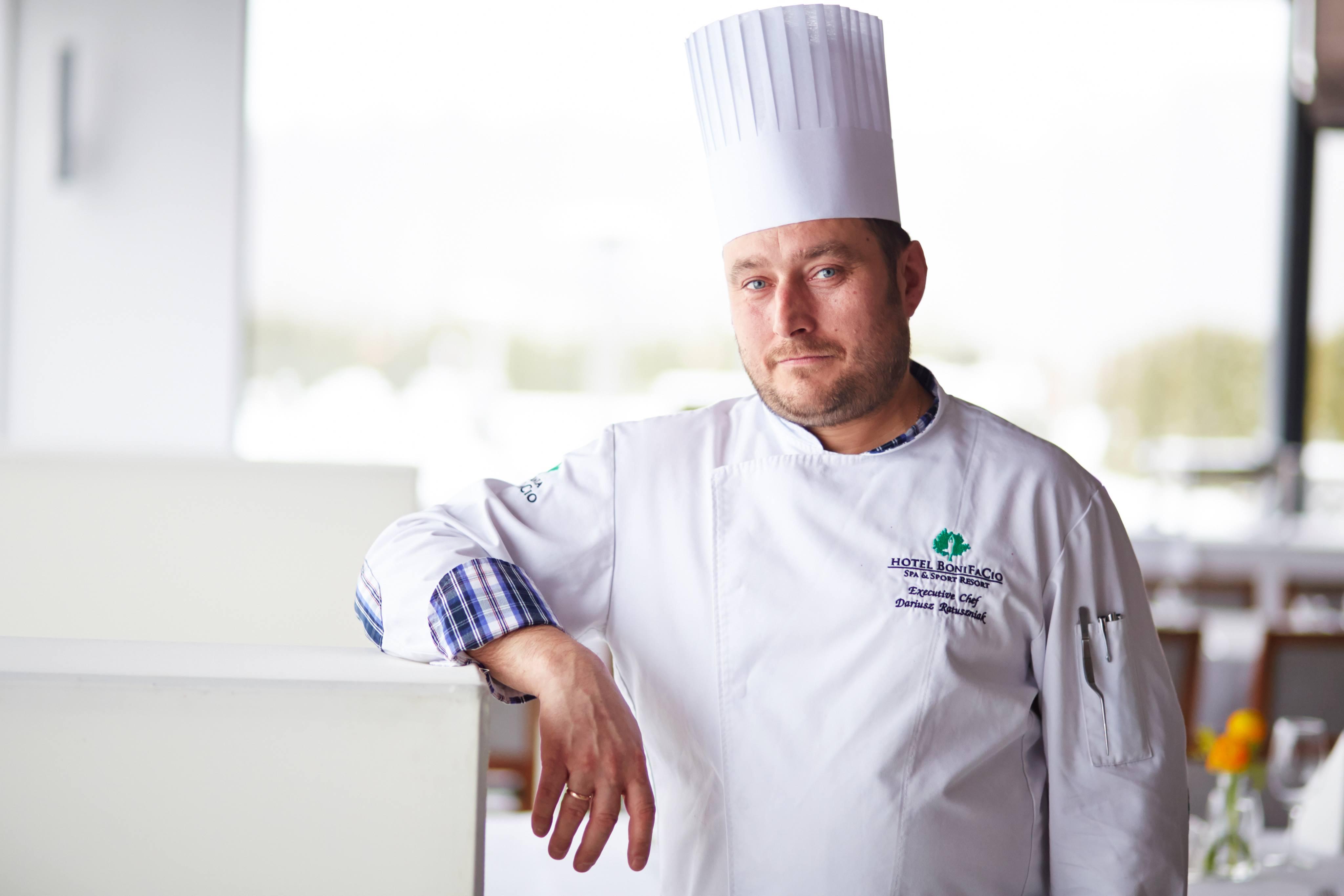 Szef Kuchni Restauracja Sztuka Gotowania Pasja Kuchnia